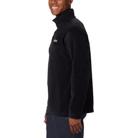Columbia Steens Mountain Suéter Botones Clip Hombre, negro
